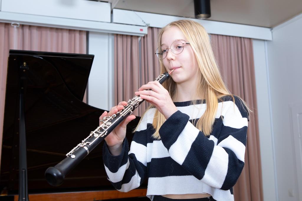 Oboe ja soittaja